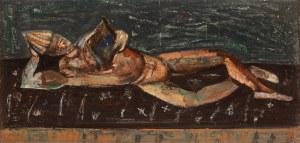 Joseph Pressmane (1904 Beresteczko- 1967 Paryż), Leżący klaun