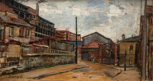 Nathan Grunsweigh (1883 Kraków - 1956 Paryż), Widok Paryża