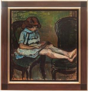 Nathan Grunsweigh (1883 Kraków - 1956 Paryż), Portret córki Adeline (Rebekki)