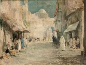 Marian Mokwa (1889 Malary - 1987 Sopot), Ulica w Damaszku (Bliski Wschód), lata 20/30 XX wieku
