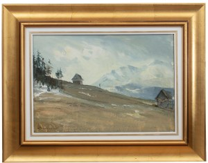 Henryk Baranowski (1932 Starogard Gdański - 2005 Gdynia), Roztopy (Szałas)
