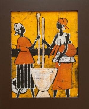 Ousman Bah, Kobiety szykujące jedzenie