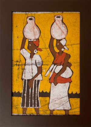 Faring Sanyag, Kobiety niosące wodę