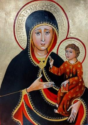 Patrycja Marczewska, Ikona pisana Matki Boskiej z Koźla z Dzieciątkiem