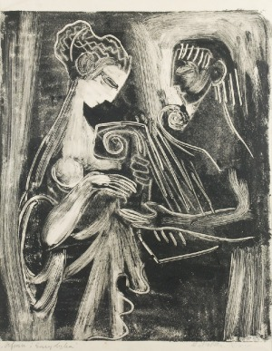 Stefania DRETLER-FLIN (1909-1994), Orfeusz i Eurydyka