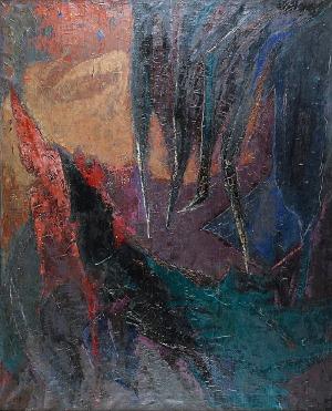 Zbigniew JASKIERSKI (1928-1969), Ostrza, 1966