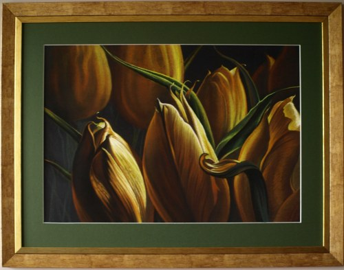 Zbigniew Kotowski, Złote tulipany, 2021