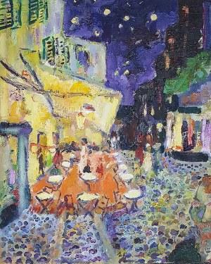 Stanisław Truszkowski (1951 - 2021), Kawiarnia Van Gogha, 2020