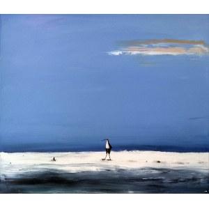 Andrzej Cybura (ur. 1976), Dzika plaża, 2021