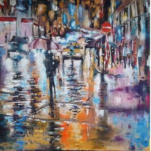 Włodzimierz Krężlewicz, Street umbrella, 2020
