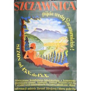 SZCZAWNICA - pijcie wody Szczawnickie. SEZON od 15. V. do 15. X.