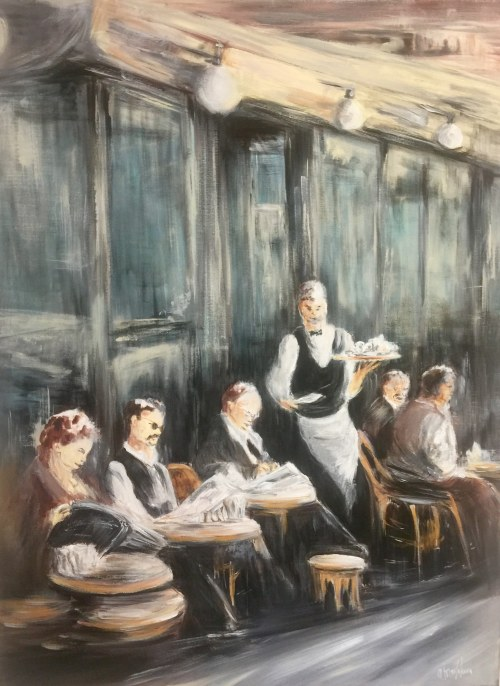"Alina Maslakova, ""Lunch time"""