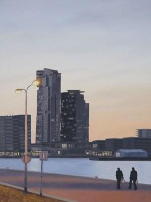 Magdalena TUŹNIK, Gdynia. Sea Towers, 2021 r.