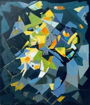 """Anna ŁUCZAK-GROCHOWSKA, Mozaika 8 , z cyklu """"Mozaiki"""
