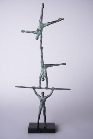 Joanna Zakrzewska, Akrobaci (brąz, wys. 52 cm)