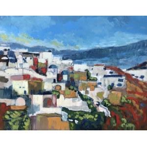 Gabriela Paluch, Grecki pejzaż, 2021