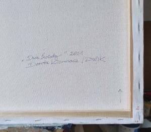 Dorota Kiermasz, Dwa światy, 2021r.