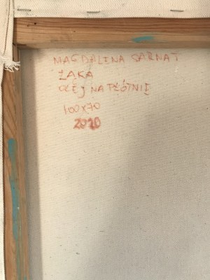 Magdalena Sarnat , Łąka, 2021r.