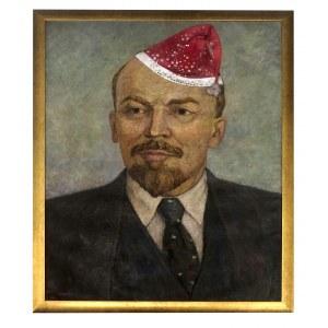 Marian Wyrożemski, Portret Lenina