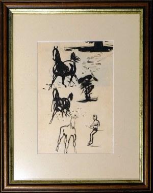 Ludwik Maciąg, Trzy konie
