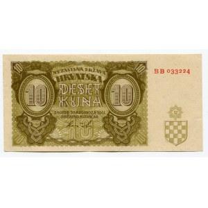 Croatia 10 Kuna 1941