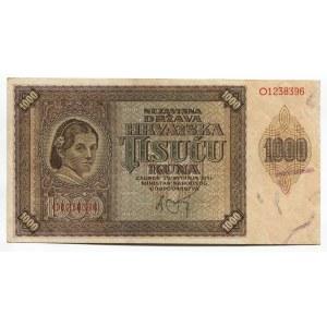 Croatia 1000 Kuna 1941