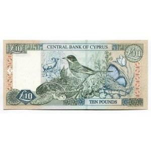 Cyprus 10 Pounds 2001
