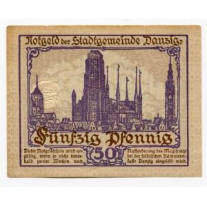 Danzig 50 Pfennig 1919