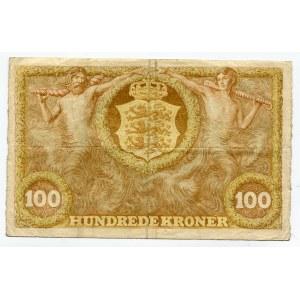 Denmark 100 Kroner 1943