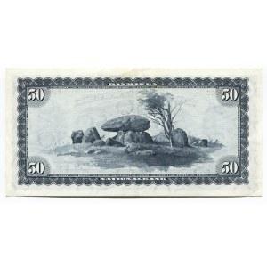 Denmark 50 Kroner 1970