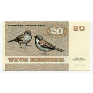 Denmark 20 Kroner 1979