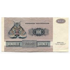 Denmark 100 Kroner 1975