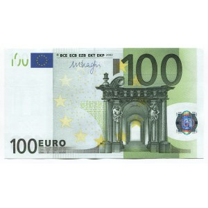 European Union 100 Euro 2002 Nice Number