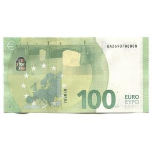 European Union 100 Euro 2019 Nice Number
