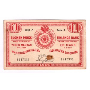 Finland 1 Gold Mark 1915