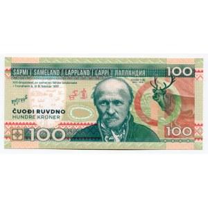 Finland - Lapland 100 Kroner 2017 Specimen Johan Turi