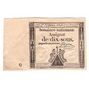 France 10 Sols 1792