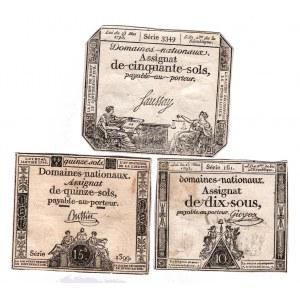 France 10-15-50 Sols 1793