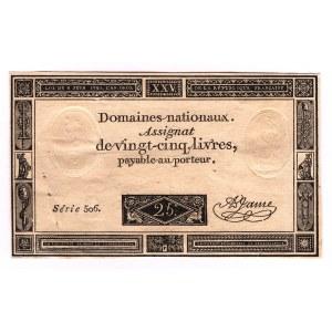 France 25 Livres 1793