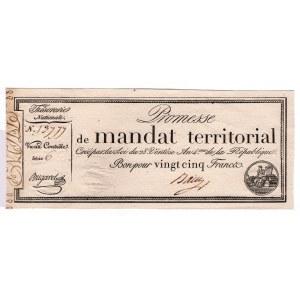 France 25 Francs 1796