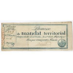 France 500 Francs 1796
