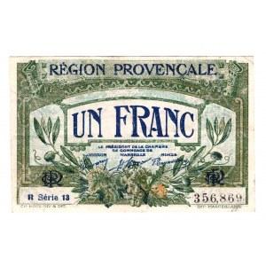France Region Provencale 1 Franc 1922
