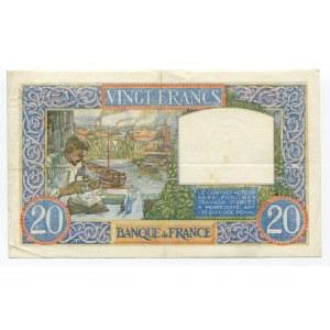France 20 Francs 1940
