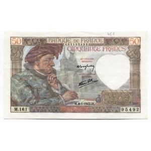 France 50 Francs 1942