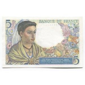 France 5 Francs 1943