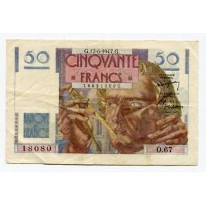 France 50 Francs 1947