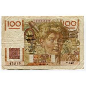 France 100 Francs 1952