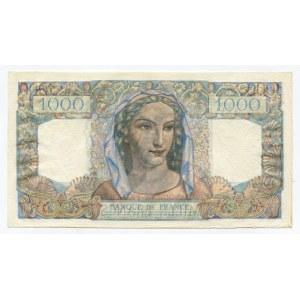 France 1000 Francs 1946