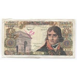 France 100 Nouveaux Francs 1963
