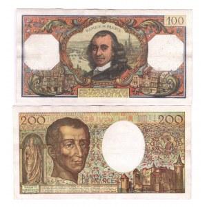 France 100 - 200 Francs 1977 - 1992